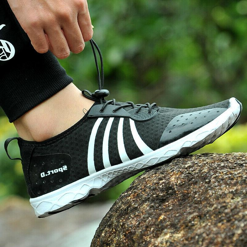 mens water shoes outdoor hiking quick surf