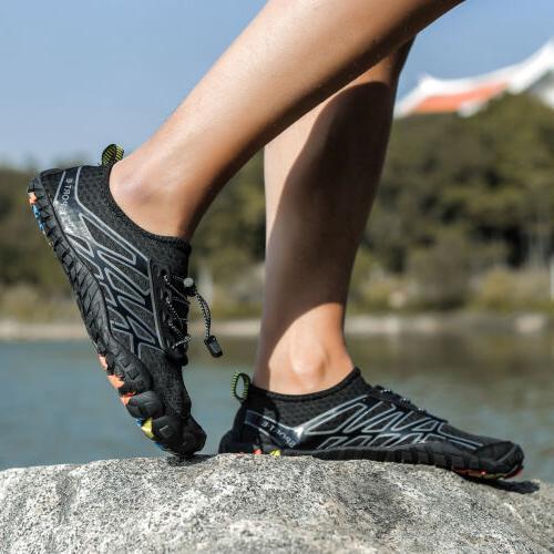 Mens Water Shoes Quick Aqua Beach Walking