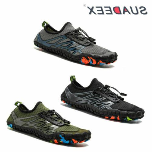 mens water shoes quick dry barefoot
