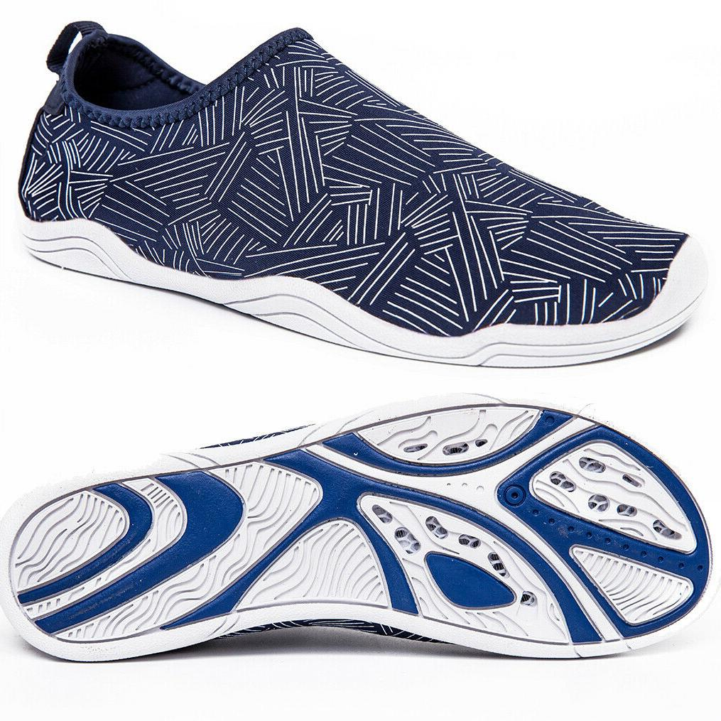 Mens Water Shoes Dry Beach Barefoot Yoga Swim Aqua Surf