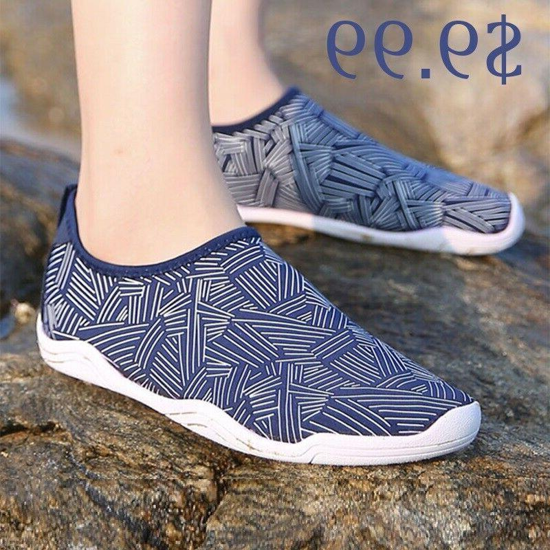 mens water shoes quick dry beach barefoot