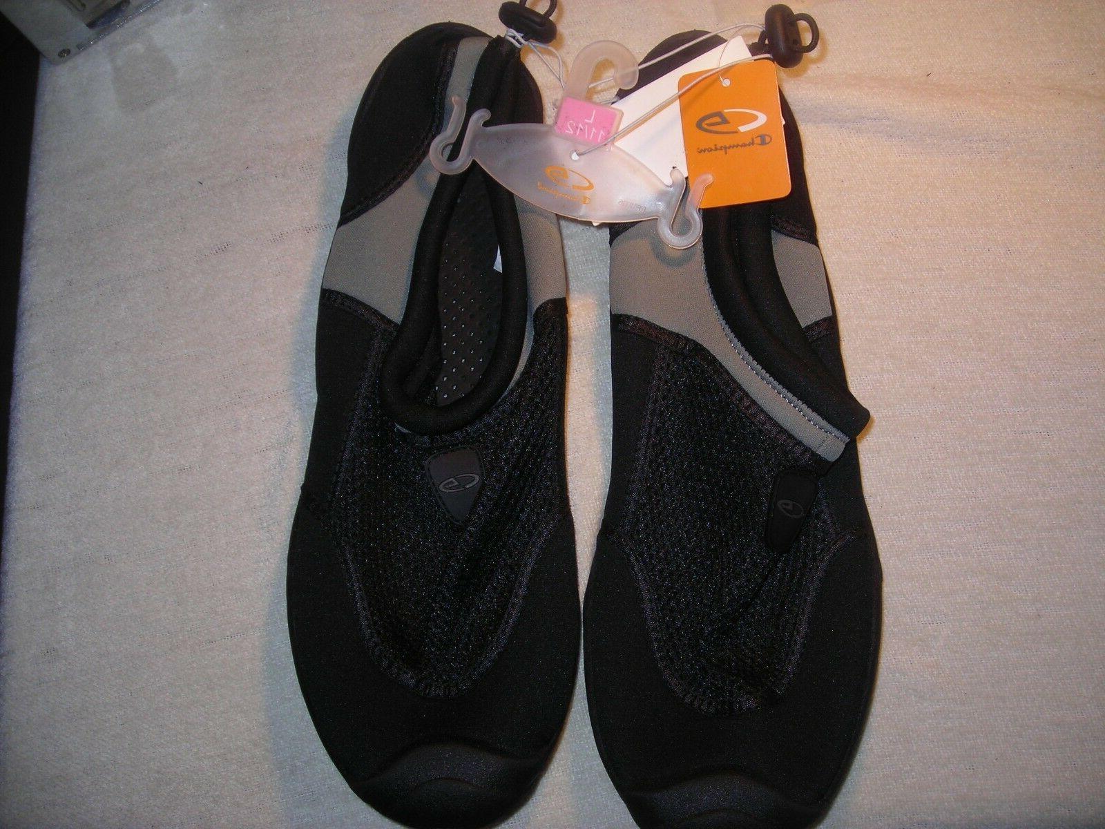 Champion Men's Water Shoes Titus Size 11/12 Large Black Re
