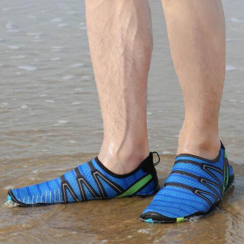 Mens Womens Water Shoes Quick Barefoot Swim Socks Surf Yoga