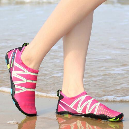Mens Beach Water Shoes Barefoot Swim Surf Yoga