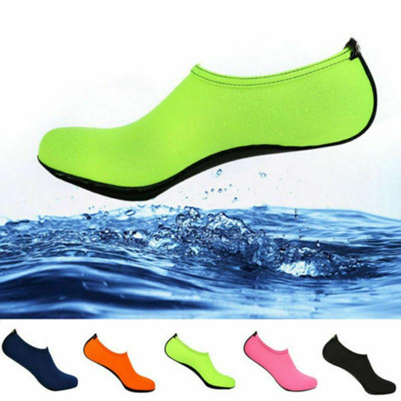 Mens Womens Water Shoes Barefoot Aqua Beach Swim Sports