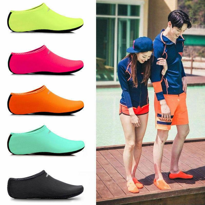 mens womens water shoes barefoot aqua socks
