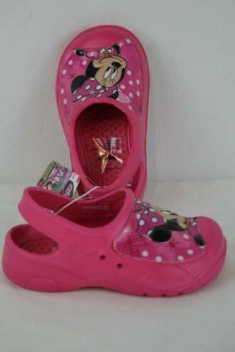 Minnie Mouse Water Shoes - 10 Clogs On
