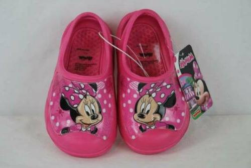 minnie mouse toddler girls water shoes large