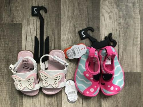 new baby girl butterfly sandals starfish water