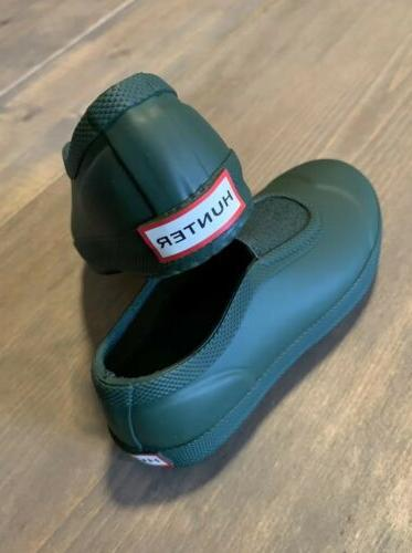 NEW Unisex Slip On Rubber Shoes Military Green Size: 8