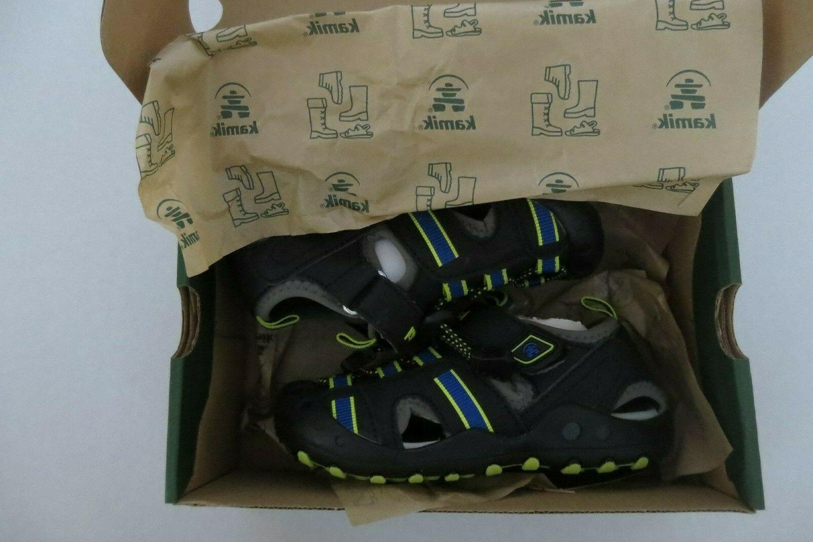 NEW Boys Kamik Toe Sandals Shoes Size 11 4 Water Shoes