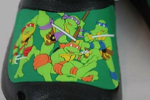 NEW Boys 13 - Ninja Turtles Water Shoes Sandals Slip