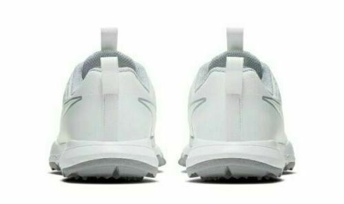 Womens AA1846-101 White Water-Repellent Shoes 9.5