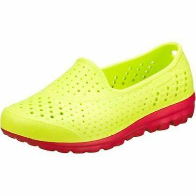 NEW! Girls Skechers H2GO Slip-on Water Shoes SIZE 13 Lime/Pi
