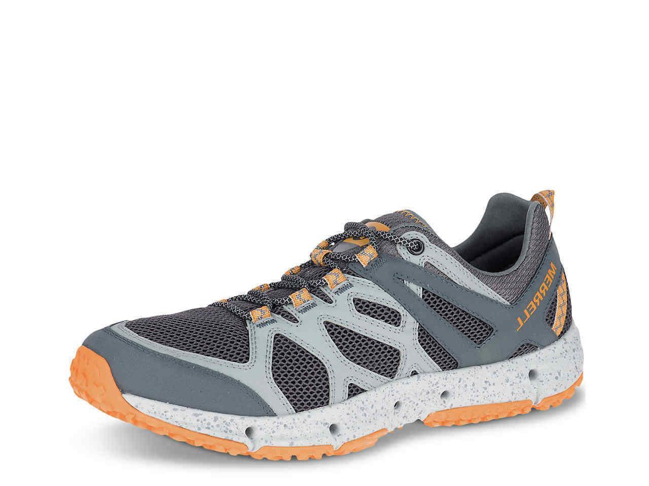 new hydrotrekker gray orange hiking water shoes