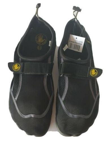 new men s water shoes black size
