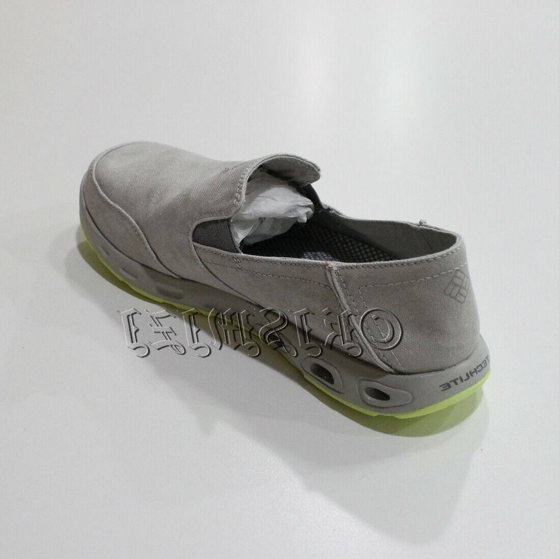"New Mens ""San Salvador"" Canvas Omni-Grip Water Boat Shoes"
