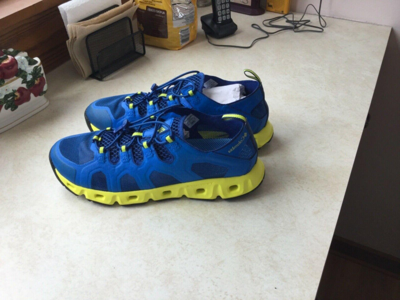 new mens supervent iii water shoe blue