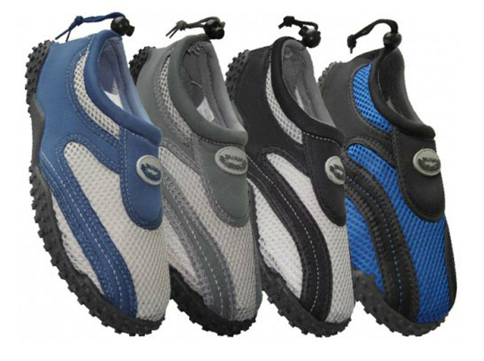 new mens water shoes aqua socks pool