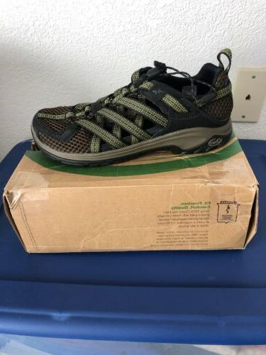 New Chaco 1 Deep Olive Hiking Water Shoes