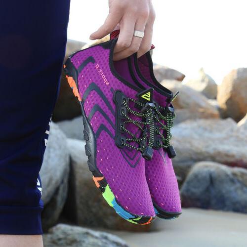 Unisex Mens Womens Beach Water Shoes Quick Dry Socks US