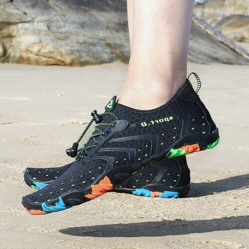 Unisex Mens Aqua Beach Shoes Quick Dry Swim Socks