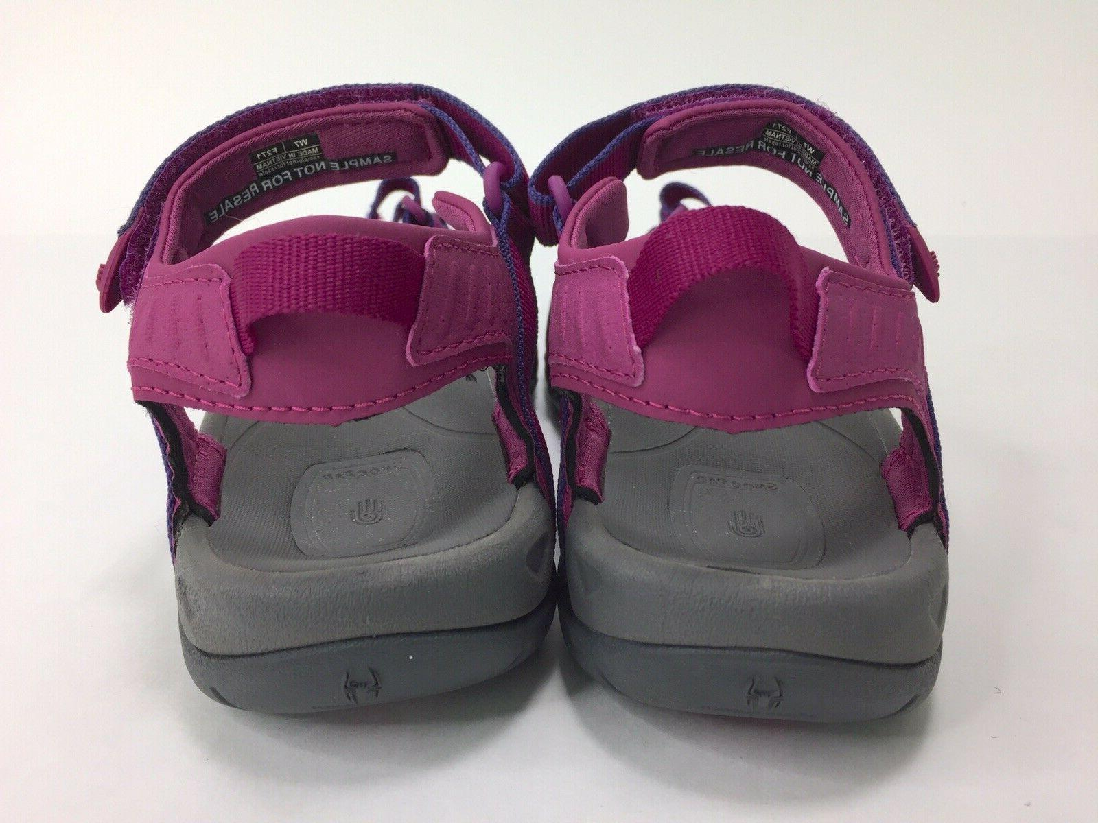 New! Women's Tirra Hiking Sandals Size Purple Pink Water