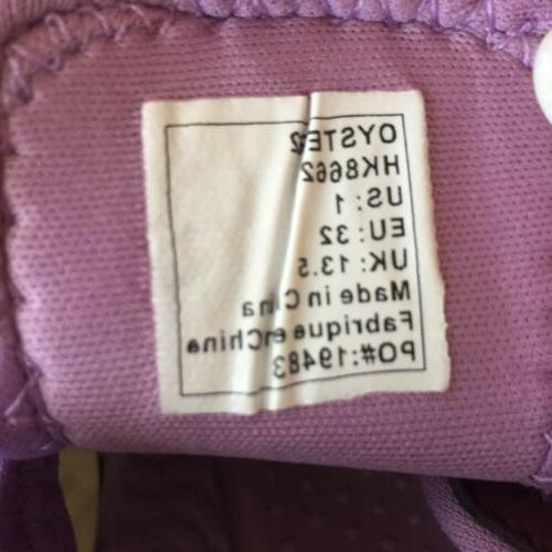 NWT $45 Kids Oyster2 Water Shoes Purple Sz 1
