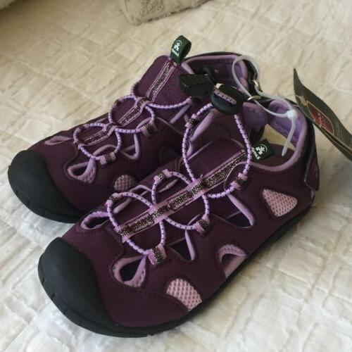 NWT $45 Oyster2 Sandals Shoes Purple Sz