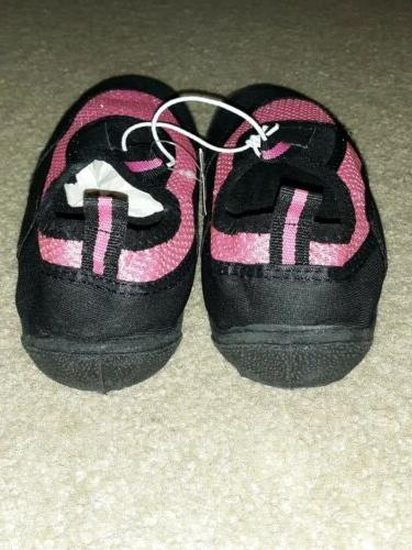 NWT BROOKS LADIES PINK/BLACK SHOES