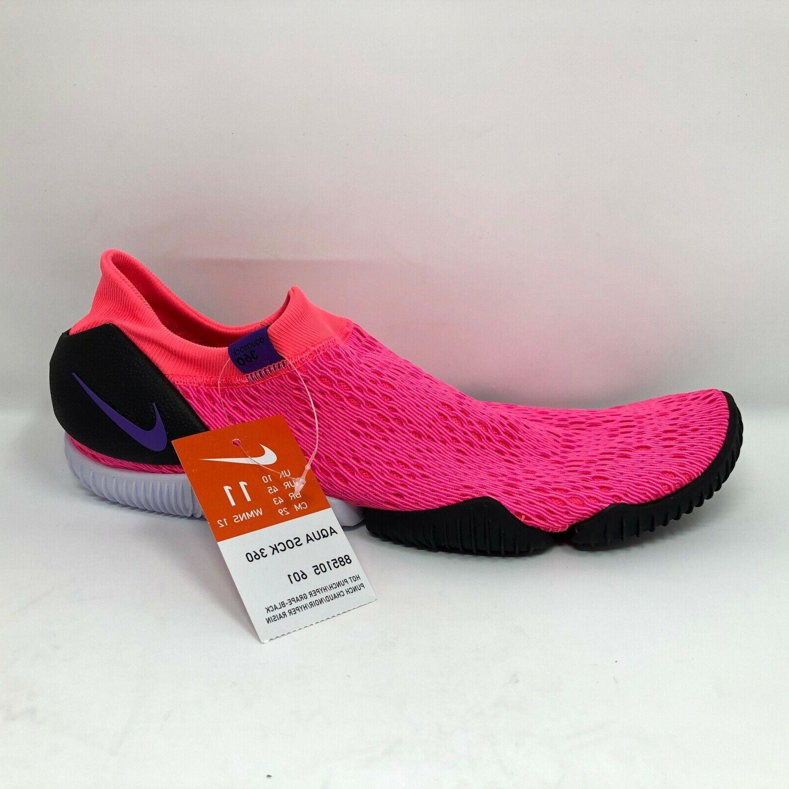 """NWT Nike Sock 360 """"pink 11 885105"""