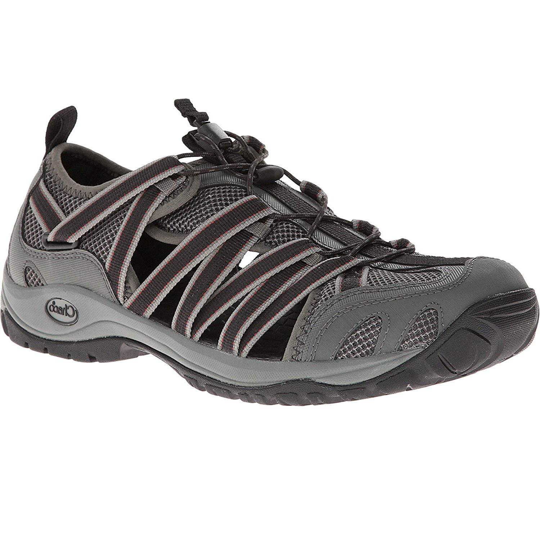 outcross lace gunmetal gray sport water shoes