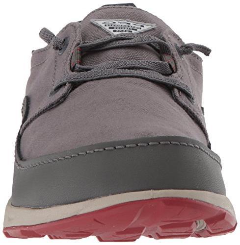 Columbia PFG Men's Vent Shoe, City Grey, Gypsy, 8