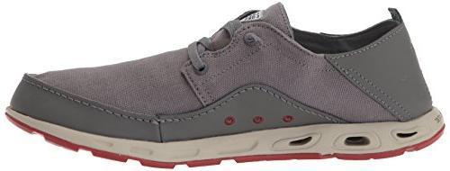 Columbia Men's Bahama Vent Boat Shoe, Grey, 8