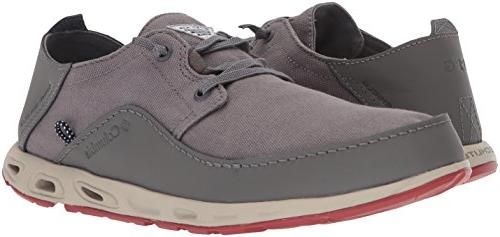 Columbia Men's Vent Relaxed PFG Shoe, Grey, Gypsy, 8