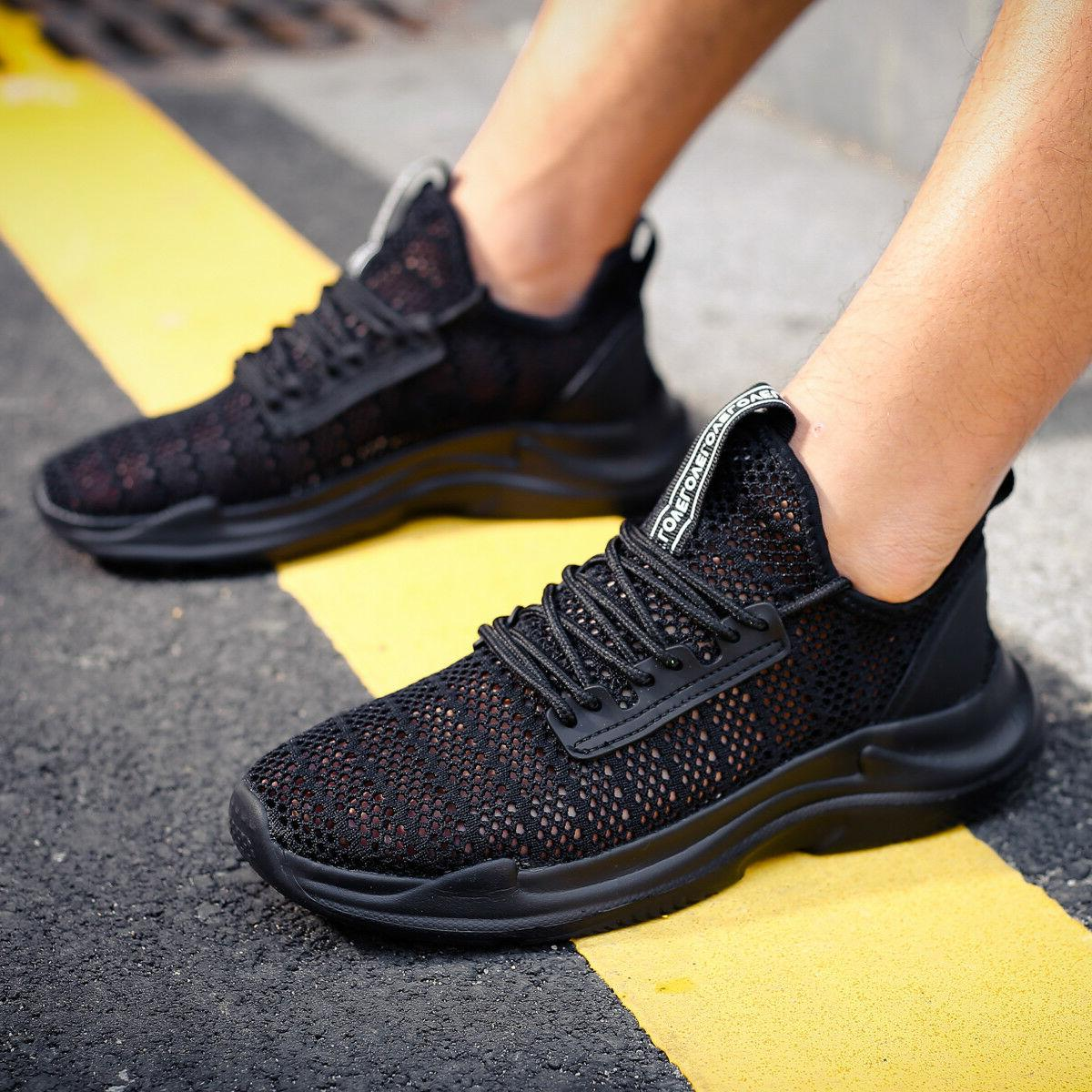 Puls size Men's Lightweight Aqua Water Shoes Beach Sneakers