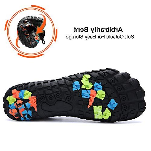 Centipede Dry Aqua Water Shoes Barefoot for Sports Orange Men M