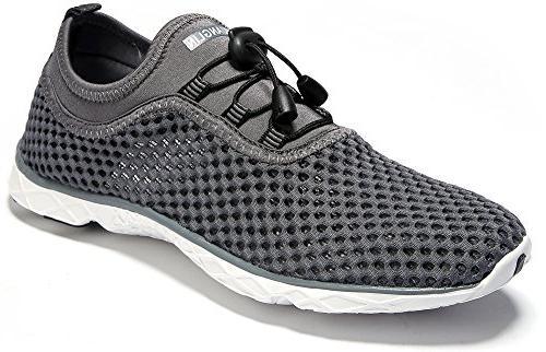Zhuanglin Men's Quick Aqua Water Shoes