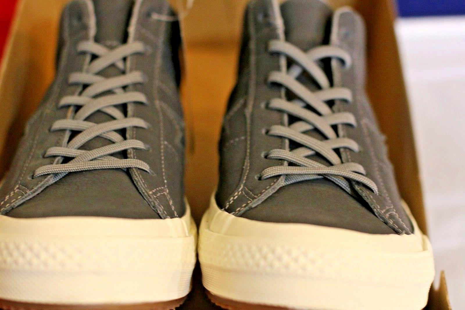 Converse Shoes for One Mid Mason Egret. Resistant Casual