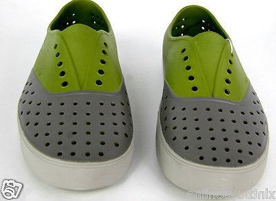 Native Shoes Green / Water