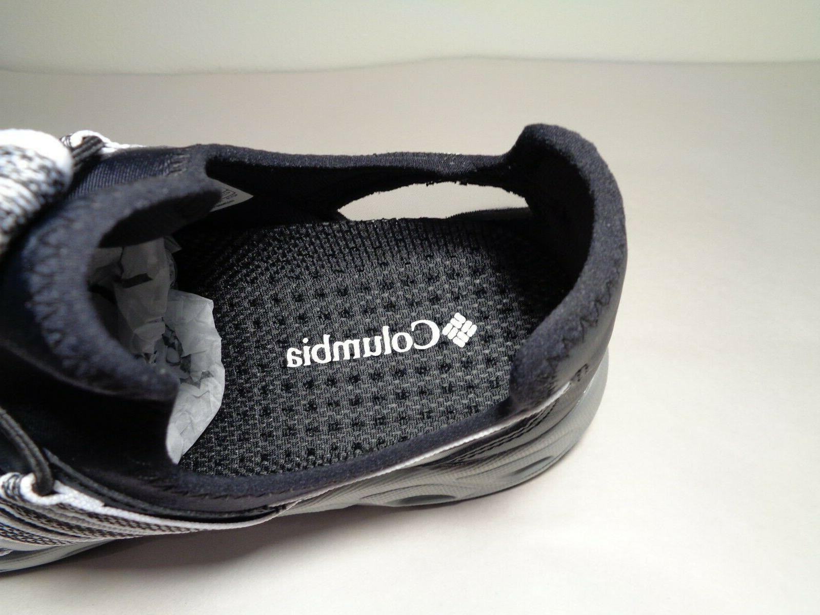 Columbia Size 11 OKOLONA Black White Toggle Sneakers New Shoes