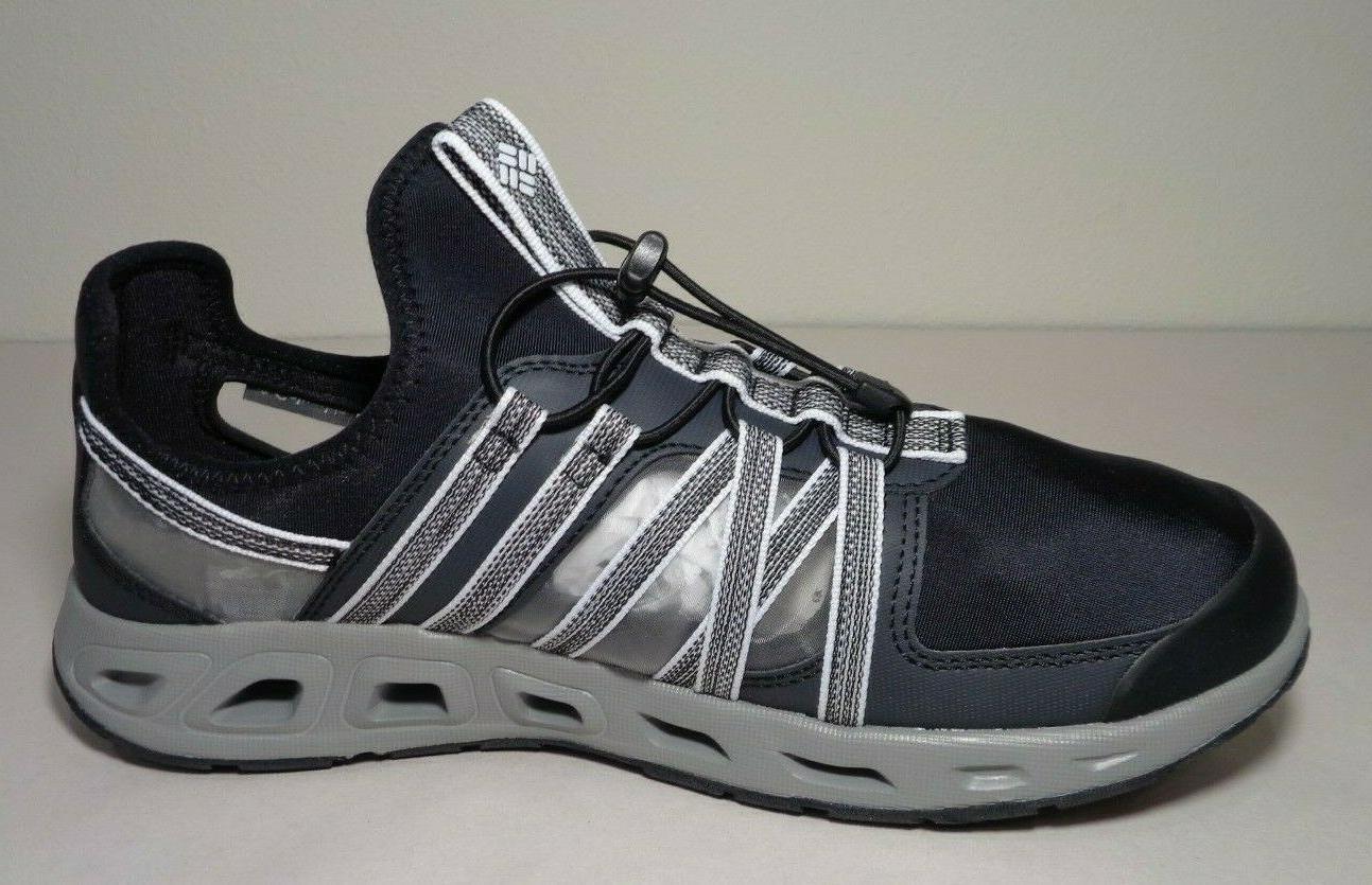 Columbia Size OKOLONA Black Sneakers Men's Water Shoes