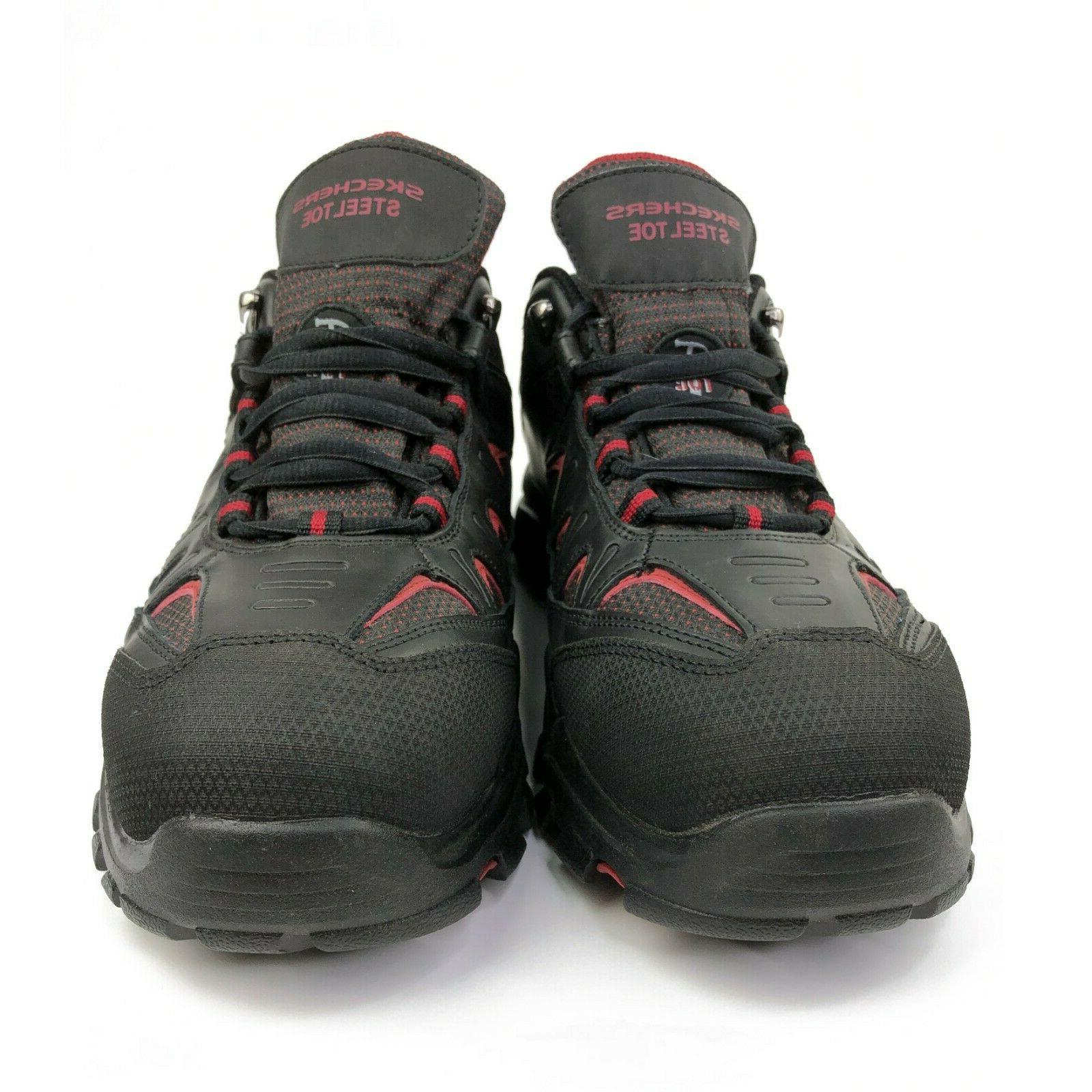 Sketchers Mens Safety Toe Shoes Water UK 8.5