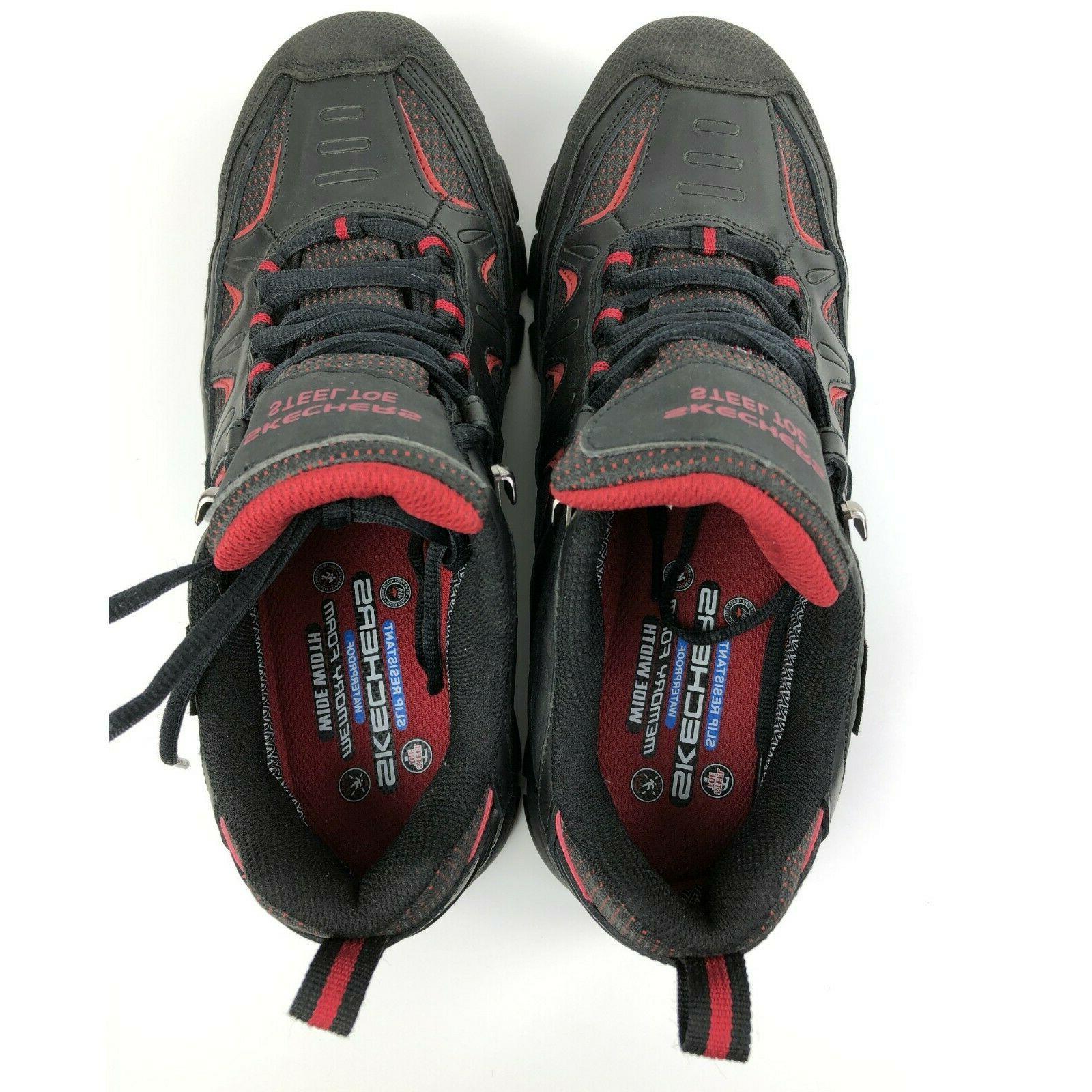 Sketchers Mens 9.5 Safety Toe Shoes 8.5