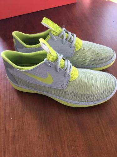 Nike Solarsoft Shoes 333 men's New grey