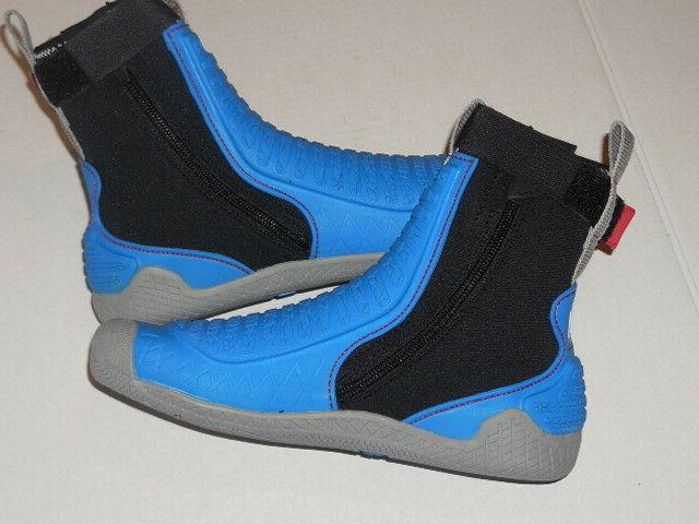Water Boots Blue/Grey/Black