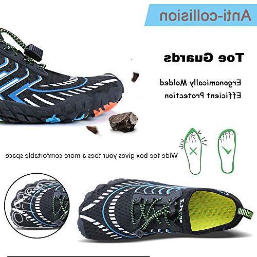 MAYZERO Water Shoes Swim Beach Shoes Aqua