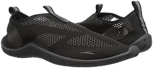 Speedo Athletic Shoe, Black/Dark Gull Grey, C/D