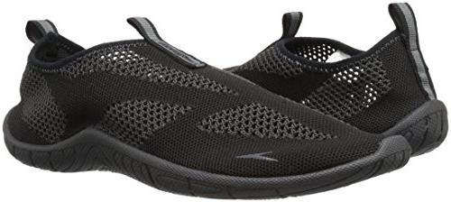 Speedo Athletic Shoe, Black/Dark Gull Grey, C/D