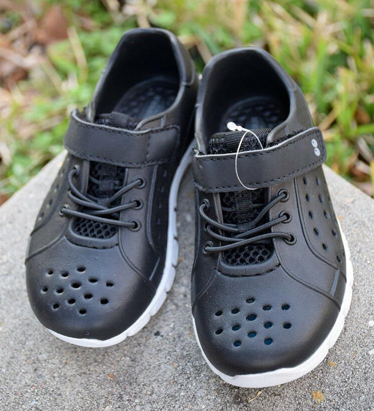 Surprize Tex Toddler Boy 7 Shoes Black Sneakers